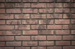 De uitstekende achtergrond van de steenbakstenen muur royalty-vrije stock afbeelding