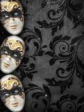 De uitstekende achtergrond van de stijlmaskerade Royalty-vrije Stock Afbeelding