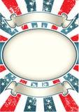 De uitstekende Achtergrond van de V.S. Royalty-vrije Stock Foto