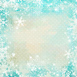 De uitstekende achtergrond van de winter Royalty-vrije Stock Foto's