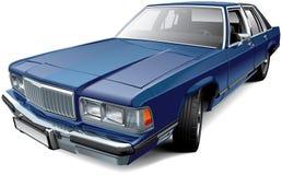 De uitstekende Amerikaanse sedan van de ware grootteluxe stock illustratie