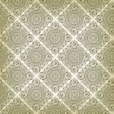 De uitstekende Art Deco-textuur van het stijl naadloze patroon stock illustratie