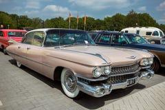 1959 de uitstekende auto van Cadillac Sedan DE Ville Stock Fotografie