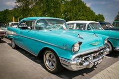1957 de uitstekende auto van Chevrolet Bel Air Royalty-vrije Stock Foto