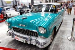 De uitstekende auto van Chevrolet Bel Air - Voorraadbeeld Stock Foto