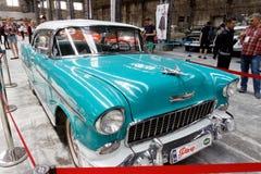 De uitstekende auto van Chevrolet Bel Air - Voorraadbeeld Stock Afbeelding