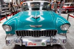 De uitstekende auto van Chevrolet Bel Air - Voorraadbeeld Stock Foto's