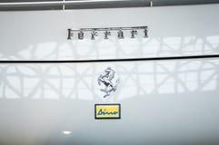 De uitstekende auto van Dino van embleemferarri Royalty-vrije Stock Foto