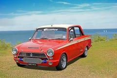 De uitstekende auto van doorwaadbare plaatscortina Royalty-vrije Stock Afbeelding