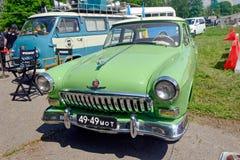 De uitstekende auto van GAZ M21 Volga - Voorraadbeeld Stock Afbeelding