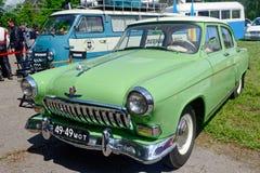 De uitstekende auto van GAZ M21 Volga - Voorraadbeeld Royalty-vrije Stock Fotografie