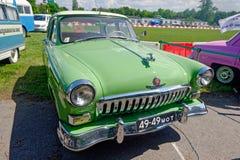 De uitstekende auto van GAZ M21 Volga - Voorraadbeeld Royalty-vrije Stock Afbeeldingen