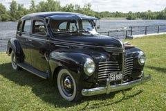 De uitstekende auto van Plymouth Stock Afbeeldingen