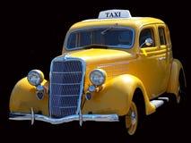 De uitstekende Cabine van de Taxi Royalty-vrije Stock Foto's