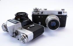 De uitstekende camera royalty-vrije stock afbeeldingen