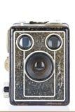 De uitstekende Camera van de Brownie van de Doos Stock Afbeeldingen