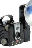 De uitstekende camera van de Foto Royalty-vrije Stock Fotografie