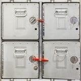 De uitstekende containers van de vliegtuiglading Royalty-vrije Stock Fotografie