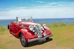 De uitstekende convertibele auto van het triomfdolomiet Royalty-vrije Stock Fotografie