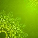 De uitstekende etnische vectorachtergrond van ornamentmandala stock illustratie