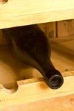 De uitstekende Fles van de Wijn stock afbeeldingen