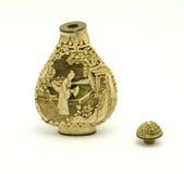 De uitstekende Fles van het Genie van de Geisha royalty-vrije stock afbeeldingen