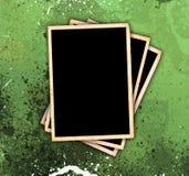 De uitstekende Frames van de Foto op de Achtergrond van de Stijl Grunge Stock Afbeelding