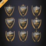 De uitstekende geplaatste etiketten van de premiekwaliteit Royalty-vrije Stock Fotografie