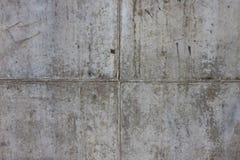 De uitstekende grijze geschilderde achtergrond van de pleister concrete muur. Donkere rand Royalty-vrije Stock Fotografie