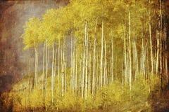 De uitstekende herfst vector illustratie