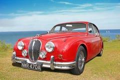 De uitstekende jaguar van 1963 mk2 Stock Foto