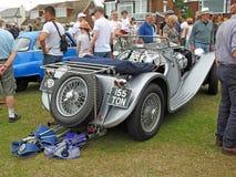 De uitstekende klassieke auto van Jaguar ss100 Stock Afbeeldingen