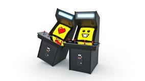 De uitstekende liefde van het de machineconcept van het arcadespel Royalty-vrije Stock Foto's
