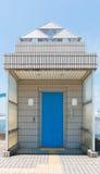 De uitstekende lift bouw van buitenmening Royalty-vrije Stock Afbeeldingen