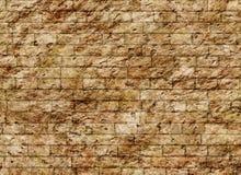 De uitstekende oude textuur van het bakstenen muurpatroon Stock Foto's