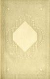De uitstekende Pagina van het Boek Royalty-vrije Stock Afbeeldingen