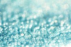 De uitstekende parels van het de kleurenkristal van de achtergrondvelddiepte blauwe hemel royalty-vrije stock foto's