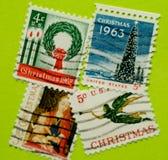 De uitstekende postzegel van de V.S. Royalty-vrije Stock Afbeelding