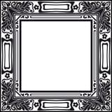 De Uitstekende Retro Vector van het fotokader Royalty-vrije Stock Afbeeldingen