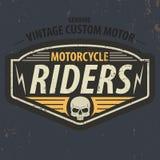 De uitstekende ruiters typografisch voor t-shirt ontwerpen, tee grafisch, vector Royalty-vrije Stock Afbeeldingen
