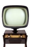De uitstekende tribune van TV Stock Afbeeldingen