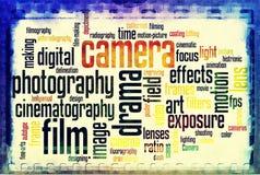 De uitstekende van de de filmstrook van de camera negatieve film zwarte witte wijnoogst Royalty-vrije Stock Foto