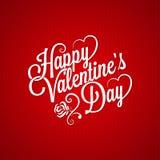 De uitstekende van letters voorziende achtergrond van de valentijnskaartendag Royalty-vrije Stock Foto's