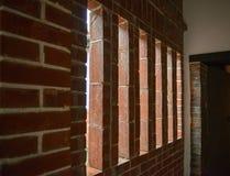 De uitstekende vensters sluiten omhoog Stock Foto's