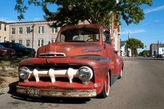 De uitstekende Vrachtwagen van de Doorwaadbare plaats Stock Afbeeldingen