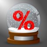 De uitverkoop van de winter stock illustratie