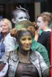 De uitvoerder van het Babolintheater bij het de Randfestival 2013 van Edinburgh Royalty-vrije Stock Afbeelding