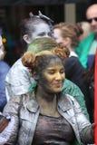 De uitvoerder van het Babolintheater bij het de Randfestival 2013 van Edinburgh Stock Afbeelding