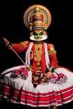 De uitvoerder van Kathakali Stock Fotografie