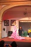 De uitvoerders van de flamencodans royalty-vrije stock fotografie